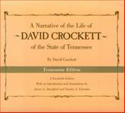 A Narrative of the Life of David Crockett of the State of Tennessee, Crockett, David, 087049533X