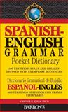 Spanish-English Grammar Pocket Dictionary, Carlos B. Vega, 0764145339