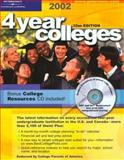 4 Year Colleges 2002, Peterson's, 0768905346