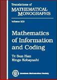 Mathematics of Information and Coding, Han, Te Sun and Kobayashi, Kingo, 0821805347