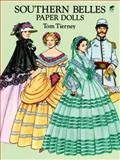 Southern Belles Paper Dolls, Tom Tierney, 0486275345