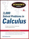 Schaum's 3,000 Solved Problems in Calculus, Mendelson, Elliott, 0071635343