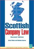 Scottish Company Law, Nicholas Bourne and Brian Pillans, 1859415350
