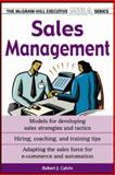 Sales Management, Calvin, Robert J., 0071435352