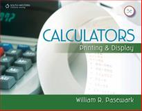 Calculators : Printing and Display, Pasewark, William R., 0840065353
