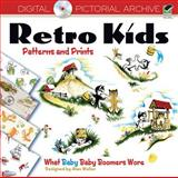 Retro Kids Patterns and Prints, , 0486485358