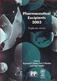 Pharmaceutical Excipients, , 0853695350