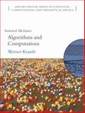 Statistical Mechanics : Algorithms and Computations, Krauth, Werner, 0198515359
