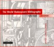 The World Shakespeare Bibliography, 1980-1996, Shakespeare, William, 0521625351