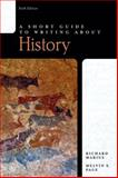 A Short Guide to Writing about History, Marius, Richard A. and Page, Melvin E., 0321435362