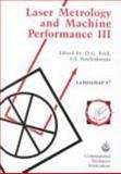Laser Metrology and Machine Performance III 9781853125362