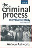 The Criminal Process, Andrew Ashworth, 0198765363