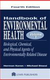 Handbook of Environmental Health, Koren, Herman and Bisesi, Michael S., 1566705363