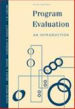 Program Evaluation : An Introduction, Royse, David D. and Thyer, Bruce, 083041536X