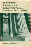 Rhetorical Knowledge in Legal Practice and Critical Legal Theory, Mootz, Francis J. and Mootz, Francis J., III, 0817315365