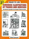 Humorous Illustrations of Trades and Services, Bob Censoni, 0486275361