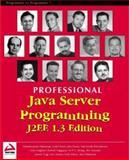 Java Server Programming J2EE, 1.3 Edition, Wrox Author Team Staff, 1861005377