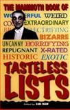 The Mammoth Book of Tasteless Lists, Karl Shaw, 078670537X
