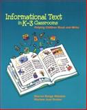 Informational Text in K-3 Classrooms 9780872075375