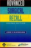 Advanced Surgical Recall, Lorne H. Blackbourne, 0781735378