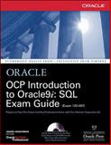 Ocp Introduction to Oracle9i : SQL Exam Guide, Couchman, Jason S., 0072195371