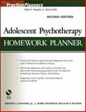 Adolescent Psychotherapy Homework Planner, Jongsma, Arthur E., Jr. and Peterson, L. Mark, 0471785377