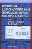 Advances in Surface Acoustic Wave Technology, Systems and Applications, , 9810245386