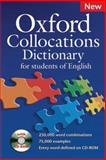 Oxford Collocations Dictionary - For Students of English, , 0194325385