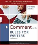 Comment for Rules for Writers, Hacker, Diana and Creed, Walter, 031243538X