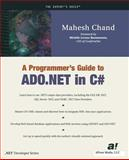 A Programmer's Guide to ADO.NET in C#, Detienne, F. and Chand, Mahesh, 1893115399