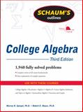 College Algebra, Spiegel, Murray and Moyer, Robert, 0071635394