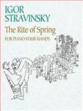 The Rite of Spring for Piano Four Hands, Igor Stravinsky, 0486445399