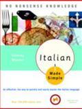 Italian Made Simple, Cristina Mazzoni, 0767915399