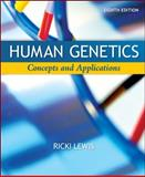 Human Genetics : Concepts and Applications, Lewis, Ricki, 0072995394