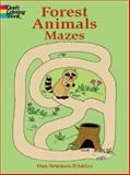 Forest Animals Mazes, Fran Newman-D'Amico, 0486415406