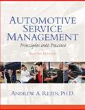 Automotive Service Management, Rezin, Andrew, 0132725401