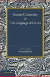 Second Characters or the Language of Forms, Cooper, Anthony Ashley, 1107685419