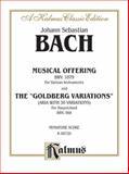 Bach Musical Offering, Johann Sebastian Bach, 0769235417