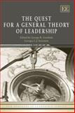 The Quest for a General Theory of Leadership, Goethals, 1845425413