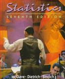Statistics, McClave, James T. and Sincich, Terry, 013471542X