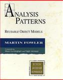 Analysis Patterns : Reusable Object Models, Fowler, Martin, 0201895420
