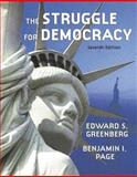 The Struggle for Democracy (paperbound) (with Study Card), Greenberg, Edward S. and Page, Benjamin I., 0321345428