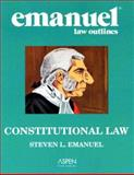 Constitutional Law, Emanuel, Steven L., 0735545421
