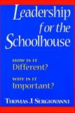 Leadership for the Schoolhouse 9780787955427