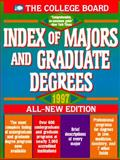 Index of Majors and Graduate Degrees, 1997, College Board Staff, 0874475430