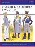 Prussian Line Infantry 1792-1815, Peter Hofschroer, 085045543X