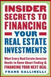 Insider Secrets to Financing Your Real Estate Investments 9780071445436