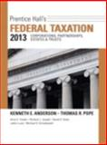 Prentice Hall's Federal Taxation 2013 Corporations, Partnerships, Estates and Trusts, Anderson, Kenneth E. and Pope, Thomas R., 0133055434