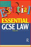 Essentials GCSE Law, Chin, Kenny, 1859415431