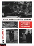 Finance Against Poverty, Hulme, David and Mosley, Paul, 0415095441